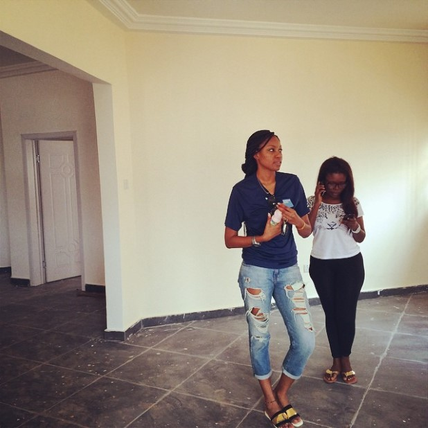 Yvonne Nelson and Delay