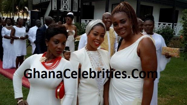 Nayele Ametefe aka Ruby Appiah (middle)