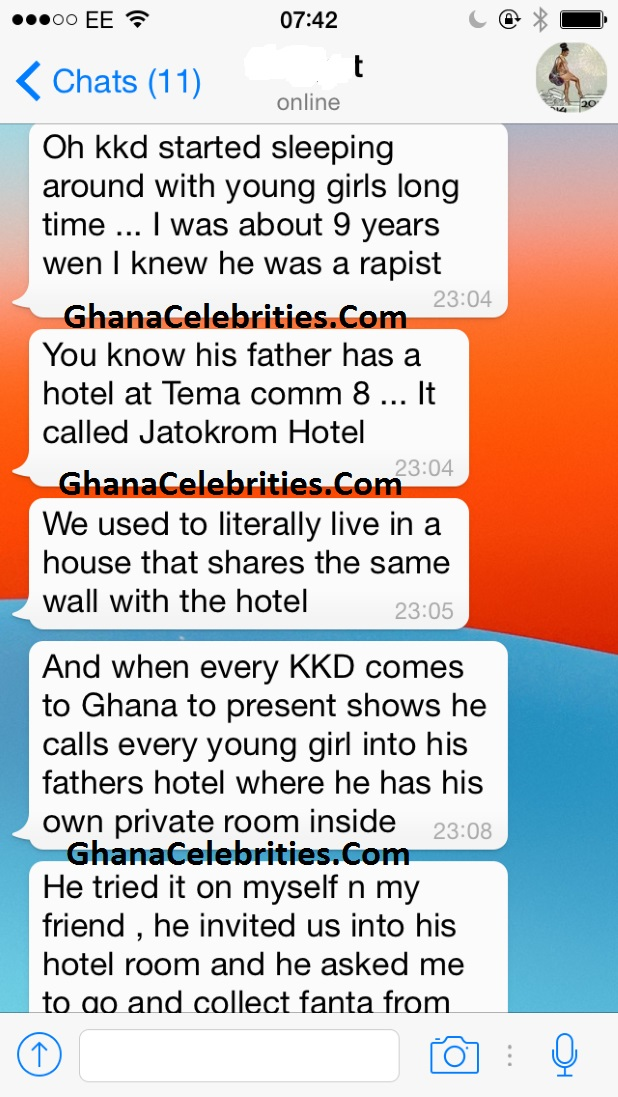 More KKD Allegations