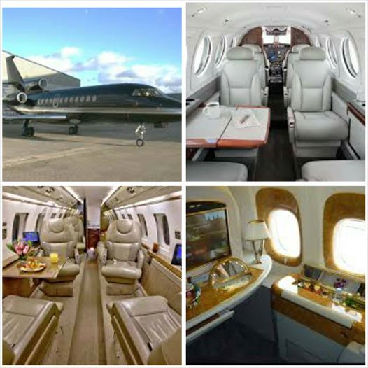 Asamoah Gyan private jet1