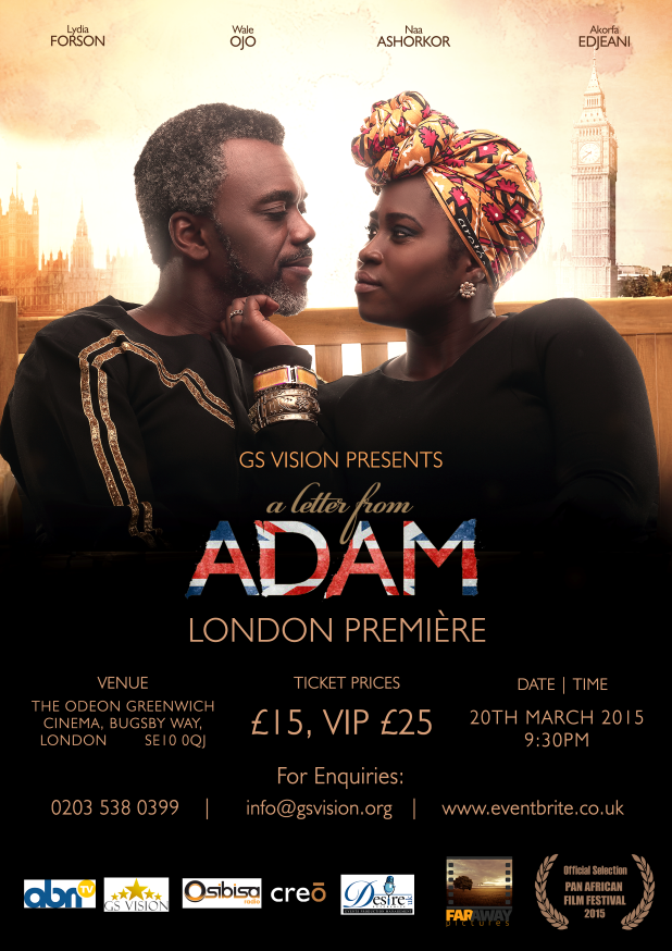 UK Premiere of A Letter From Adam