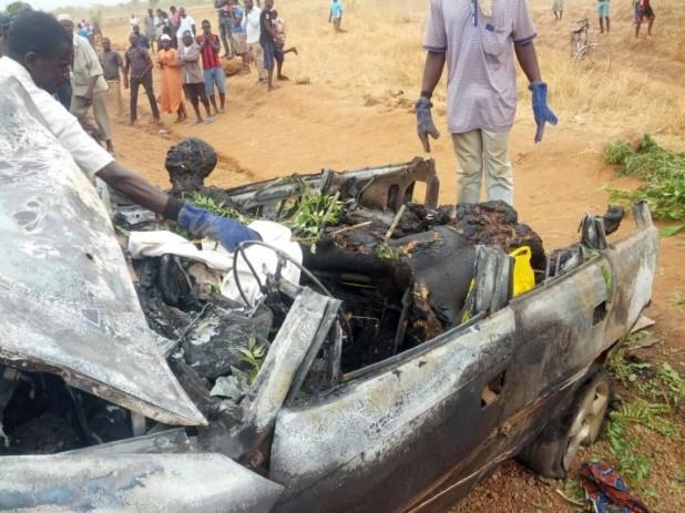 Taxi Accident Ghana