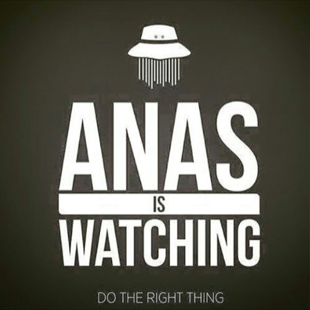 Anas is Watching