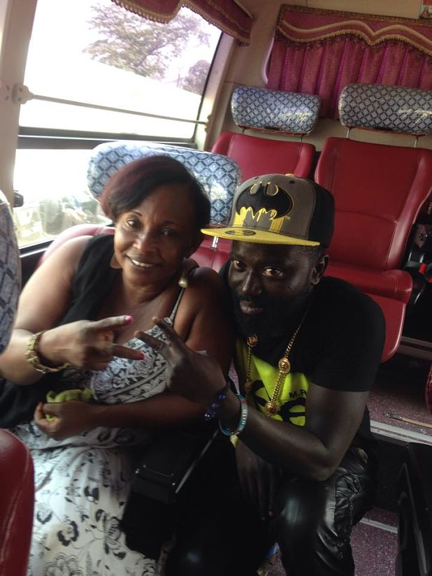 Kyeiwaa and Rapper Bodwese