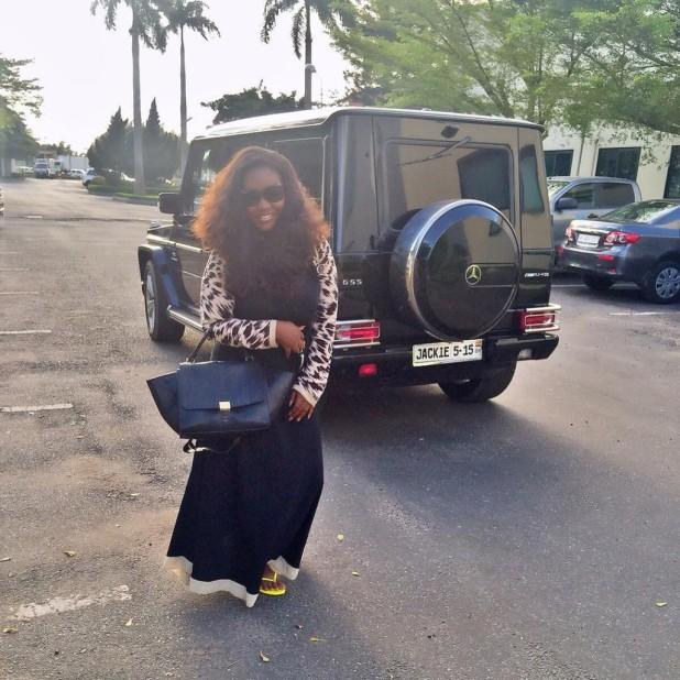 Jackie Appiah G-Wagen