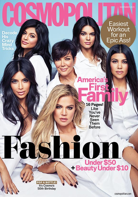 Kardashians' Cosmopolitan Cover
