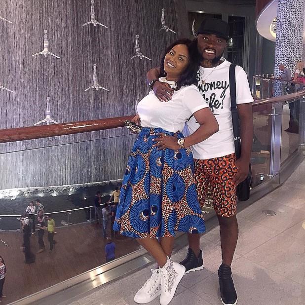 Nana Ama McBrown and Maxwell Mensah