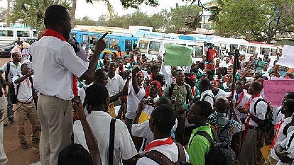 File Photo: Striking Health Workers