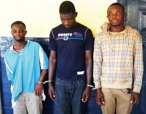 Three Robbers Arrested After Being Exposed By A Car Tracking Device In Ghana