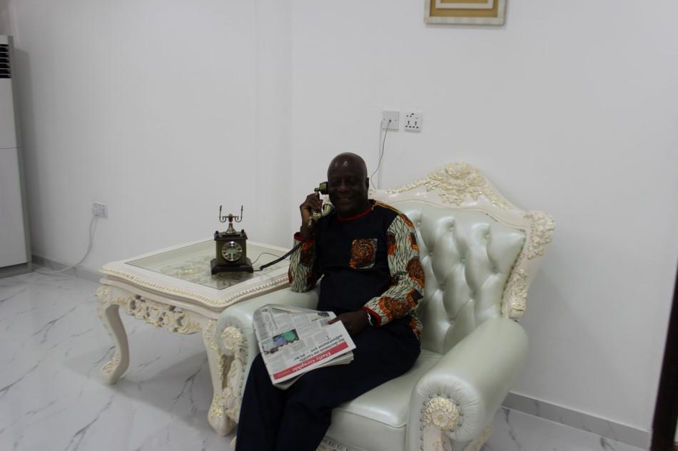 Dr. Felix Anyah: Inside the Melchizek Building At Holy Trinity Health