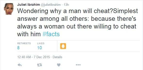 juliet-ibrahim-husband-cheat