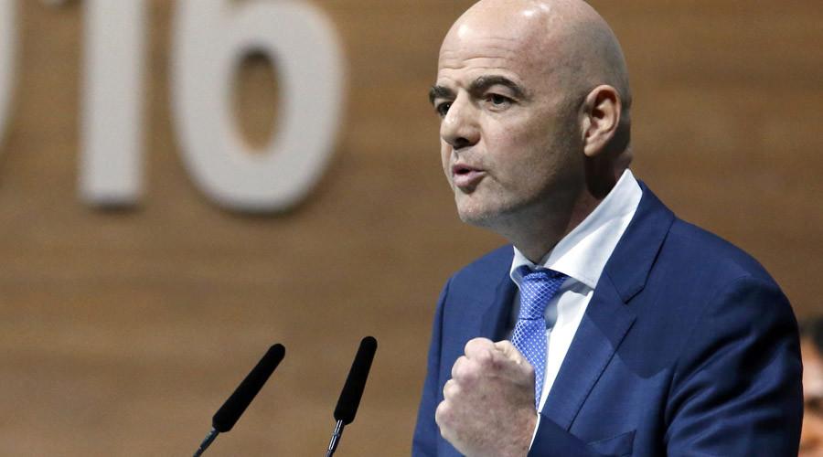 New Fifa President- Gianni Infantino