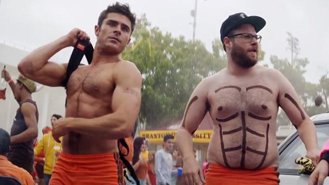 Seth Rogen and Zac Efron in Bad Neighbours 2