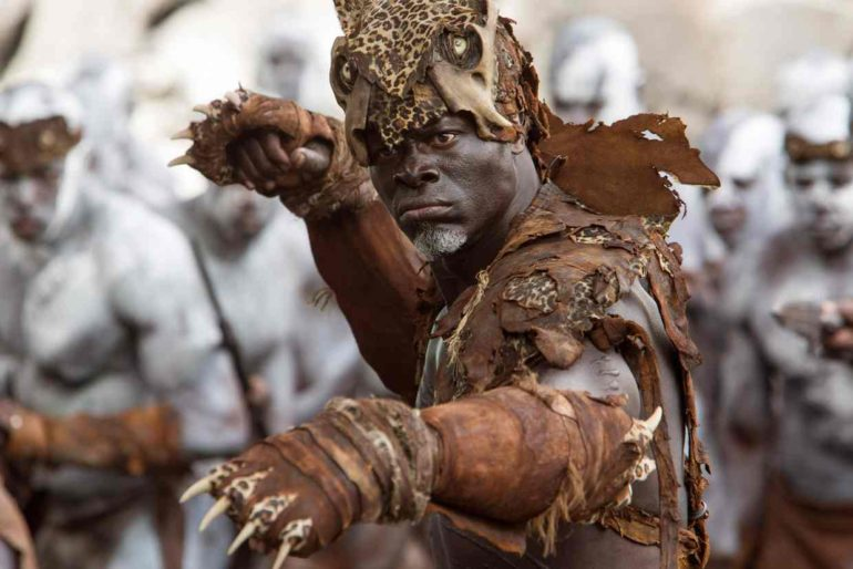 Djimon Hounsou as Chief Mbonga in The Legend of Tarzan