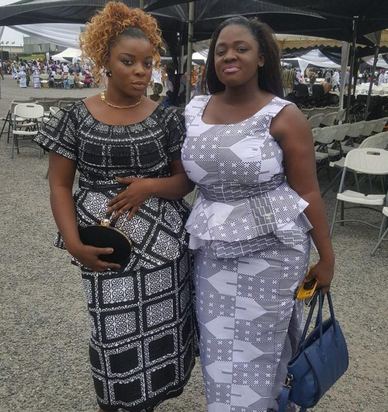 Kani Gloria and Tracey Boakye