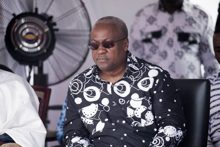 President Mahama Mother's funeral rites
