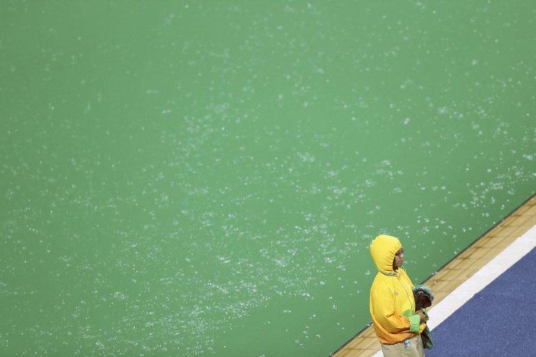 Green Pool at Rio Olympics