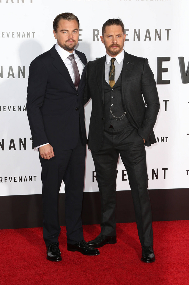 Premiere of 20th Century Fox's 'The Revenant' at TCL Chinese Theatre - Red Carpet Arrivals Featuring: Leonardo DiCaprio, Tom Hardy Where: Los Angeles, California, United States When: 16 Dec 2015 Credit: FayesVision/WENN.com