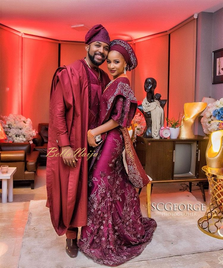 Photos From Banky W And Adesua Etomi S Wedding