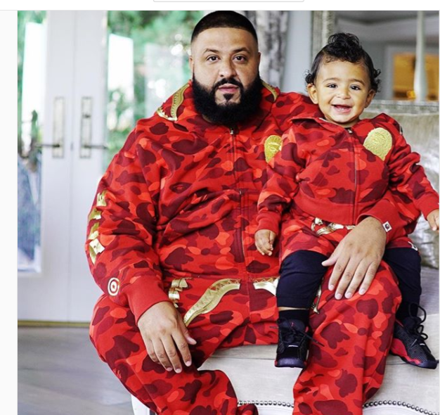 PHOTOS: All The Times That DJ Khaled And Son, Asahd  Khaled Gave Us The Father And Son Goals