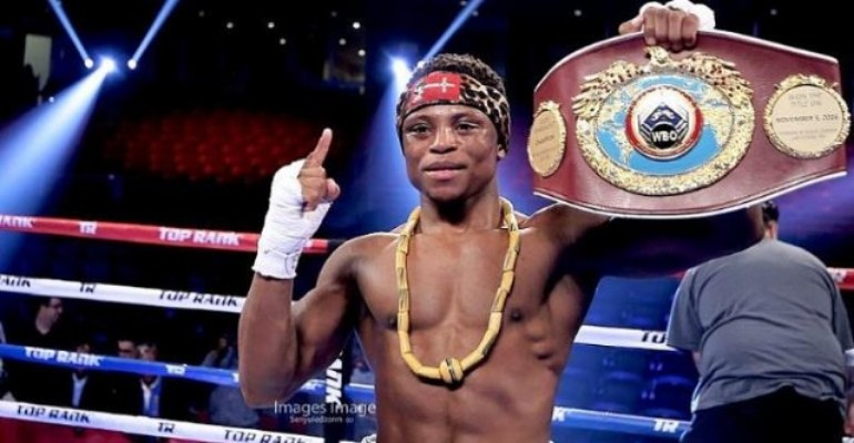 Ghanaian World Champion Isaac Dogboe To Defend Title Against Emmanuel Navarrete At Madison Square Garden